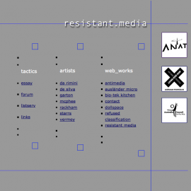 screenshot, resistant media