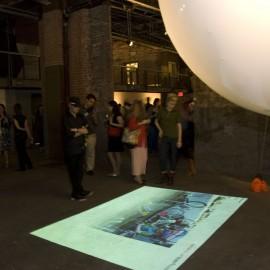 Carlos Gomes de Llarena, Urballoon, Installation shot.