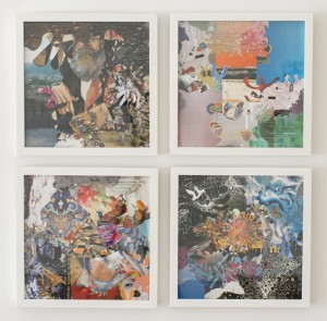 Dereck Higgins, Test Pressing Collages, 2012-1014