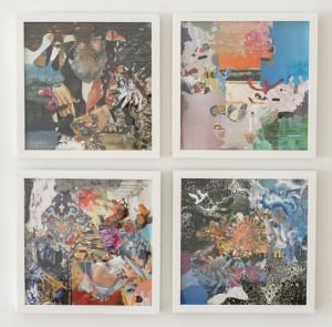 Dereck Higgins, Test Pressing Collages, 2012-1014