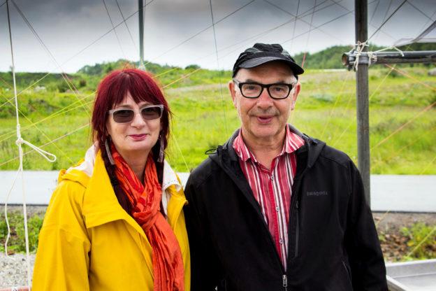 Amanda Mcdonald Crowley och Marek Walczak ligger bakom triennalen. Bild: David Helander